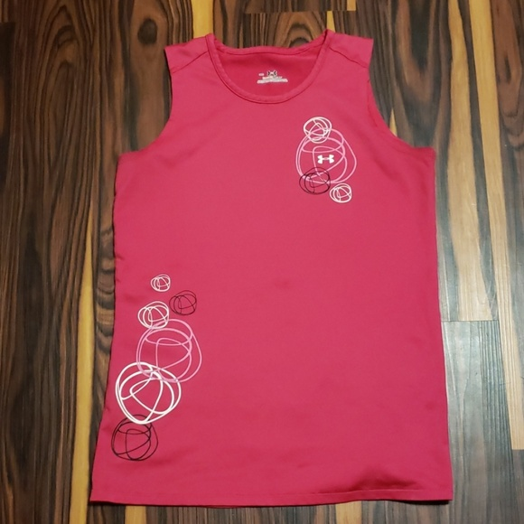 Under Armour Tops - Under Armour Heat Gear Volleyball Tank Top S